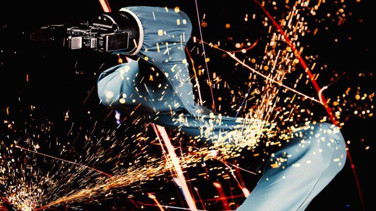 防火仕様のユニバーサルロボット専用ロボユニアームカバー スティルライフグラフィックデザイン