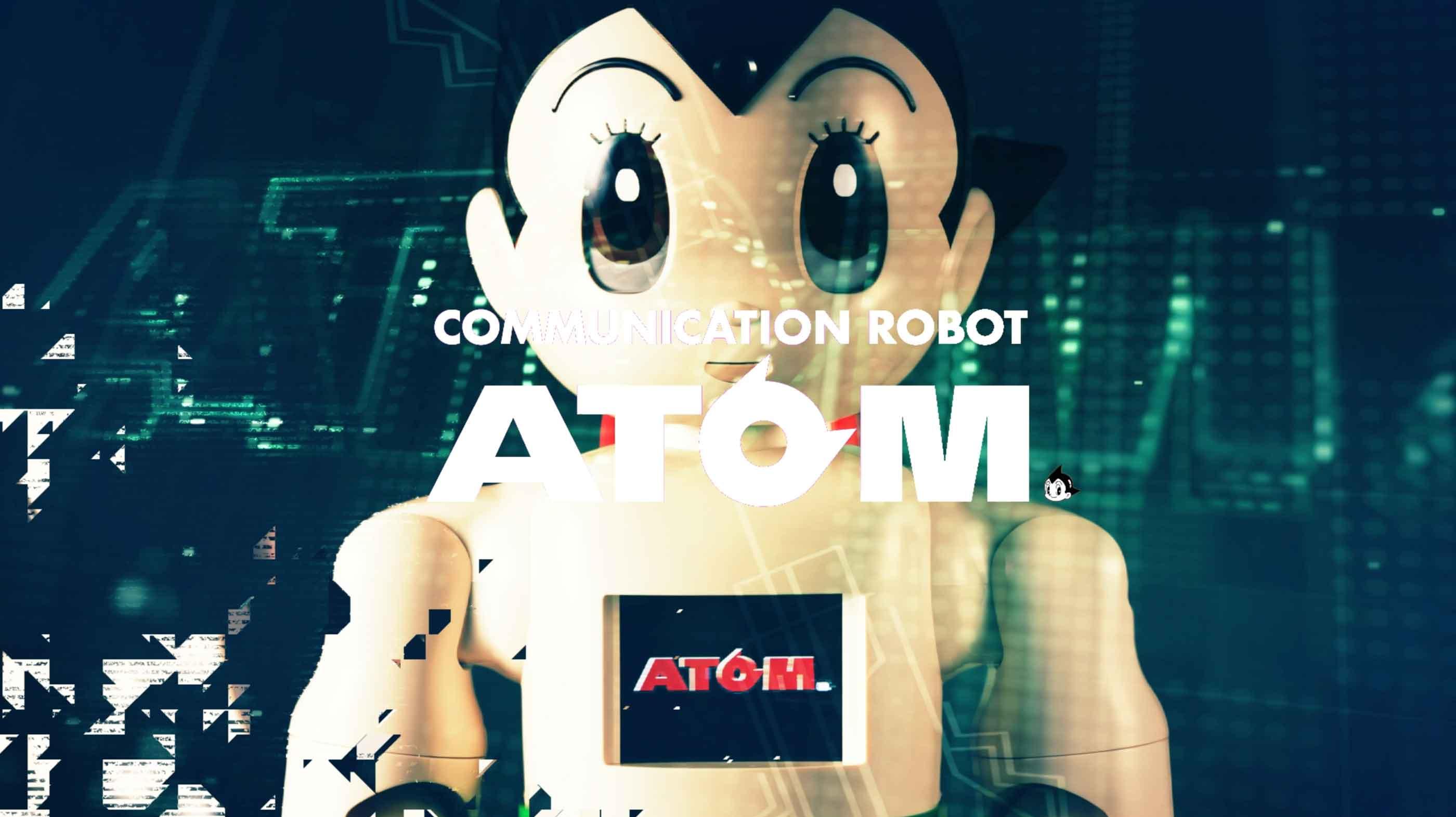 株式会社講談社「コニュニケーションロボット・ATOM PV」の制作デザインイメージ